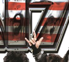 KISS band FREEDOM TO ROCK TOUR 2016 CONCERT Sticker