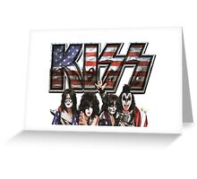 KISS band FREEDOM TO ROCK TOUR 2016 CONCERT Greeting Card
