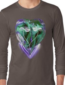 Love is Blue- Abstract  Art + Products Design  Long Sleeve T-Shirt