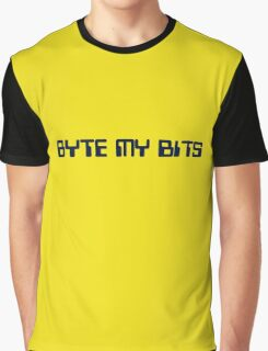Byte my Bits Graphic T-Shirt