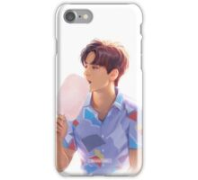 Cotton candy Sehun iPhone Case/Skin