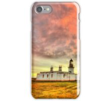 Lighthouse at Chanonry Point, Black Isle, Scotland iPhone Case/Skin
