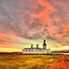 Lighthouse at Chanonry Point, Black Isle, Scotland by Stephen Frost