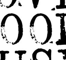 love good music Sticker