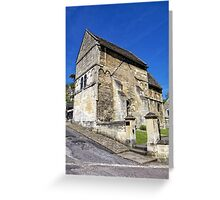 St Laurence's Church, Bradford on Avon, Wiltshire, UK Greeting Card