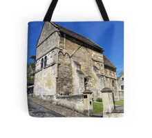 St Laurence's Church, Bradford on Avon, Wiltshire, UK Tote Bag