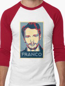 Vote For Franco Men's Baseball ¾ T-Shirt