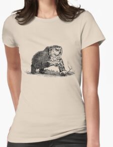 Medieval Owlbear Womens Fitted T-Shirt