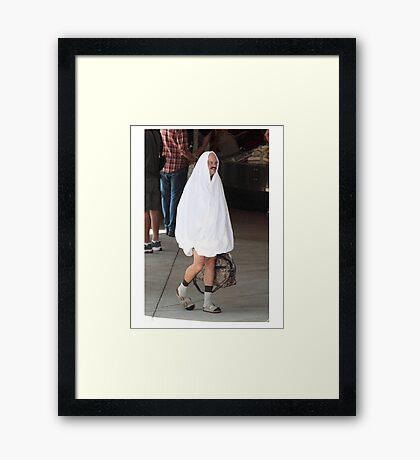 Tobias Funke Framed Print