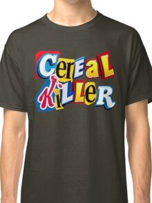 Cereal Killer Ransom Note Classic T-Shirt