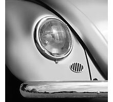 Monochromatic ~ Black & White VW Beetle image Photographic Print