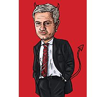 The Special One (RED) Photographic Print
