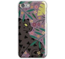 Black Jaguar Cub iPhone Case/Skin