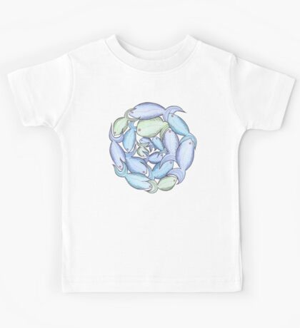 A fishy circle Kids Tee