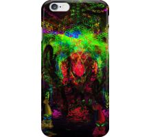 Deep Sea Psychedelia iPhone Case/Skin