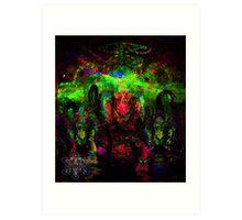 Deep Sea Psychedelia Art Print