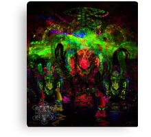 Deep Sea Psychedelia Canvas Print