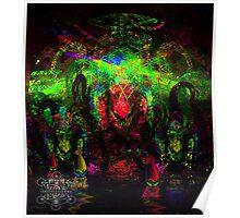 Deep Sea Psychedelia Poster