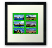 Images of Ireland A Framed Print