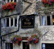 The Bridge Tea Rooms, Bradford on Avon, Wiltshire, UK Sticker