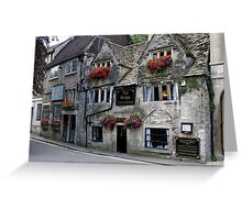 The Bridge Tea Rooms, Bradford on Avon, Wiltshire, UK Greeting Card