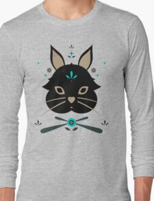 Black Bunny Long Sleeve T-Shirt