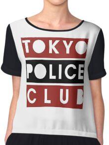 Tokyo Police Club Chiffon Top