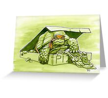 Party Turtle Greeting Card