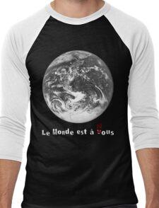 Le Monde de La Haine Men's Baseball ¾ T-Shirt