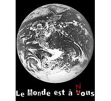 Le Monde de La Haine Photographic Print