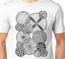 Zentangle®-Inspired Art - ZIA 53 Unisex T-Shirt