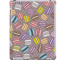 Colorful macarons print iPad Case/Skin