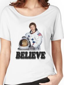 Michael Cera Believes in You Women's Relaxed Fit T-Shirt