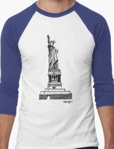 Liberty Men's Baseball ¾ T-Shirt