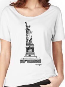 Liberty Women's Relaxed Fit T-Shirt
