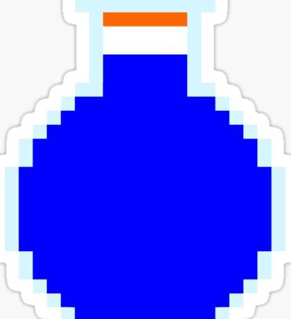 Mana potion (pixel art) Sticker