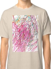 Pink Scribble (Gym) Classic T-Shirt
