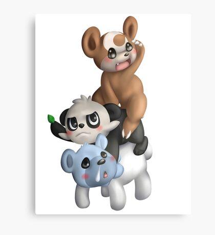 We Bear Pokemon Canvas Print