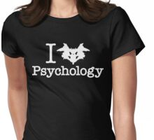 I Heart (Rorschach Inkblot) Psychology Womens Fitted T-Shirt