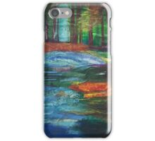 Water by the Forest  iPhone Case/Skin