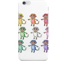 Monkey Time  iPhone Case/Skin