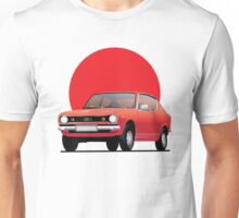 Datsun 100A - Datsun Cherry, red, illustration Unisex T-Shirt