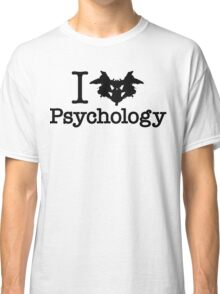 I Heart (Rorschach Inkblot) Psychology Classic T-Shirt