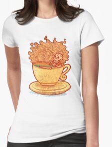 Tea Team Womens Fitted T-Shirt