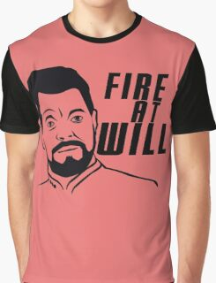 Fire At Will Graphic T-Shirt