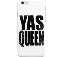 YAS QUEEN (BLACK) iPhone Case/Skin