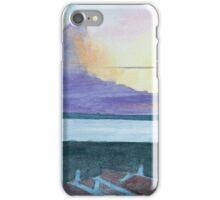 Sunset, Alvor, Algarve by John Rees iPhone Case/Skin