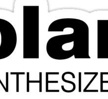 Roland Synthesizer (Black) Sticker