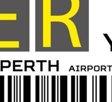 Destination Perth Airport Sticker