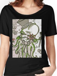 Steampunk Cthulhu  Women's Relaxed Fit T-Shirt